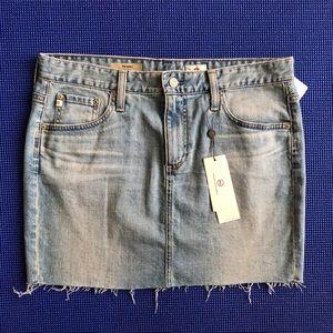 AG Sandy Denim Mini Skirt